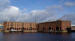 Das Albert Dock ist ein Komplex von Dock- und Lagergebäuden in Liverpool Merseyside