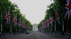 The Mall, im Hintergrund der Buckingham Palace